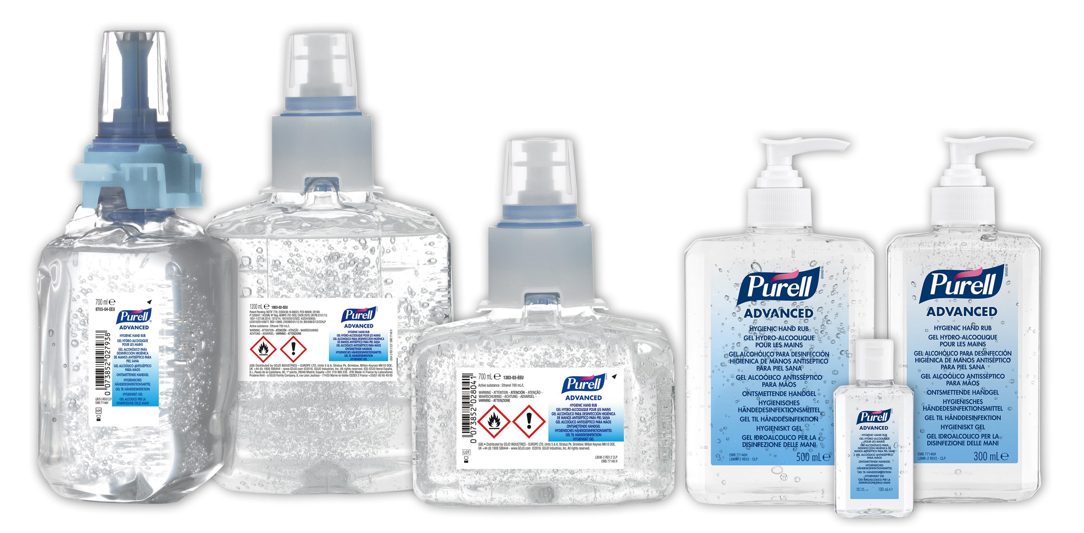 Gel Hydro-Alcooliques PURELL® Advanced