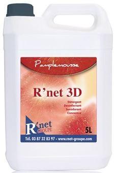 R'net 3D -Pamplemousse  Détergent désinfectant surodorant concentré - 5Lx2