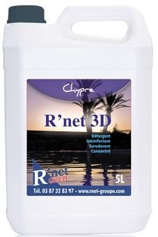 R'net 3D Chypre- Détergent désinfectant surodorant concentré - 5Lx2