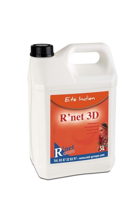 R'net 3D  Eté indien.-Détergent désinfectant surodorant concentré - 5Lx2
