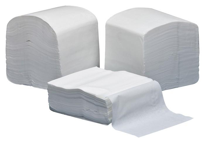 Papier toilette - Colis de 30 paquets plat de 300 doubles feuilles