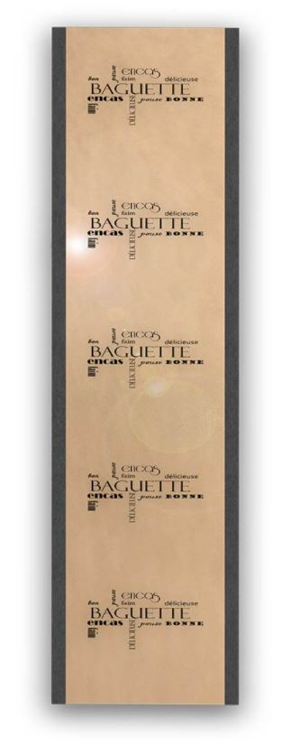"Sac Bag 9+4X60 Kraft B Access""Les Mots""/1000"