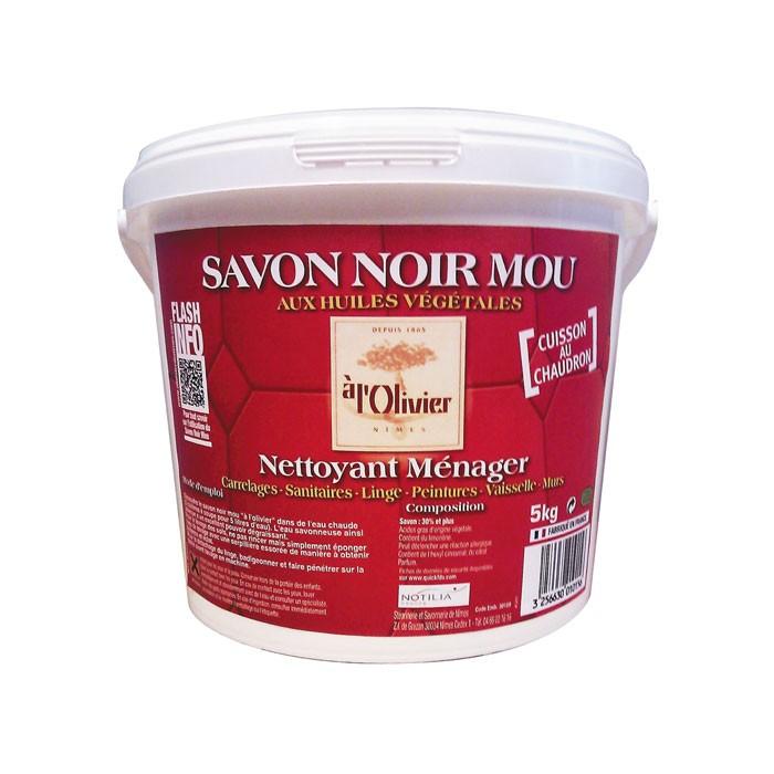 Savon noir mou - Seau 5 kg