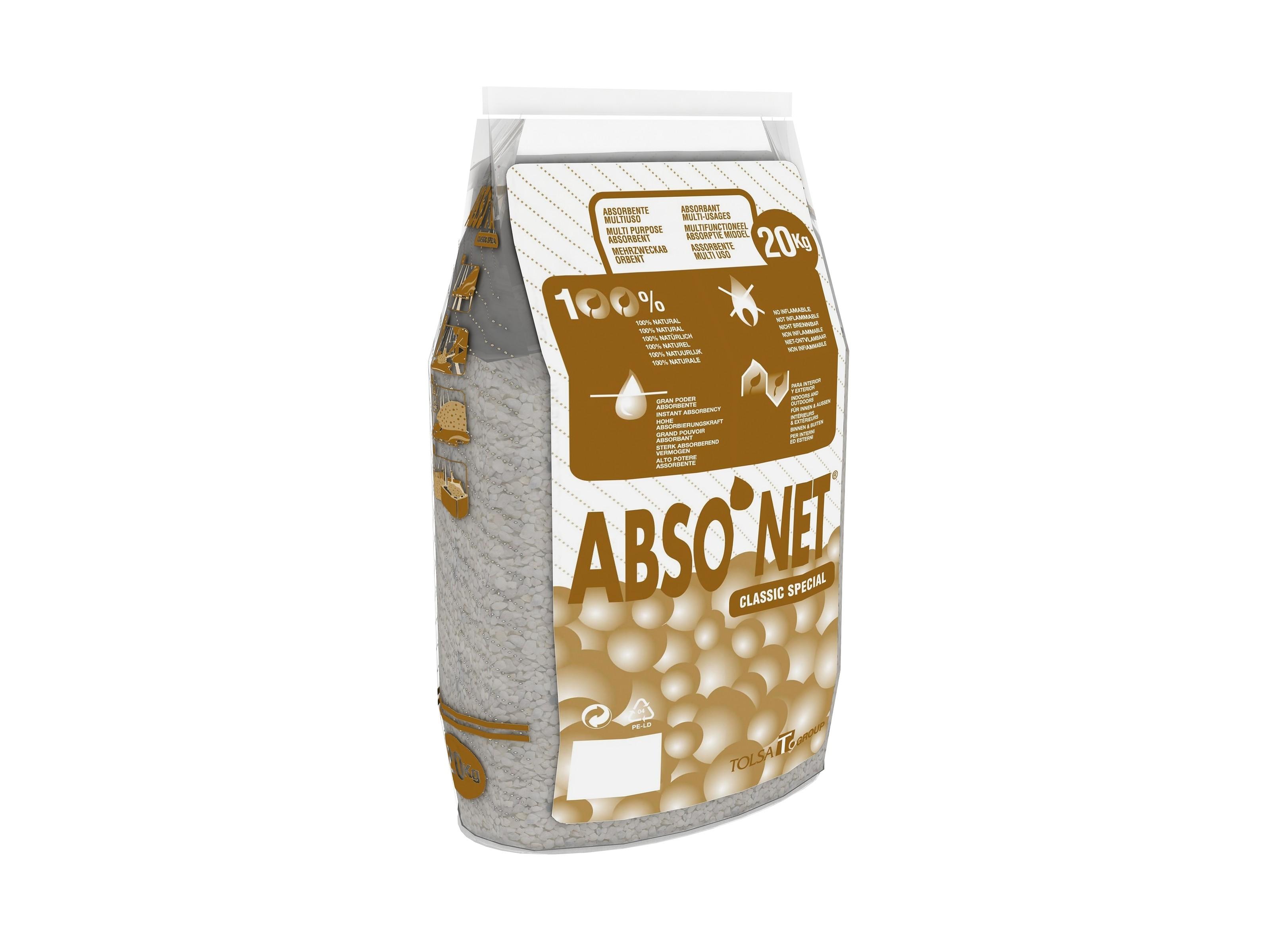 SEPIOLITE GRAIN FIN – ABSONET CLASSIC SPECIAL 20 Kg
