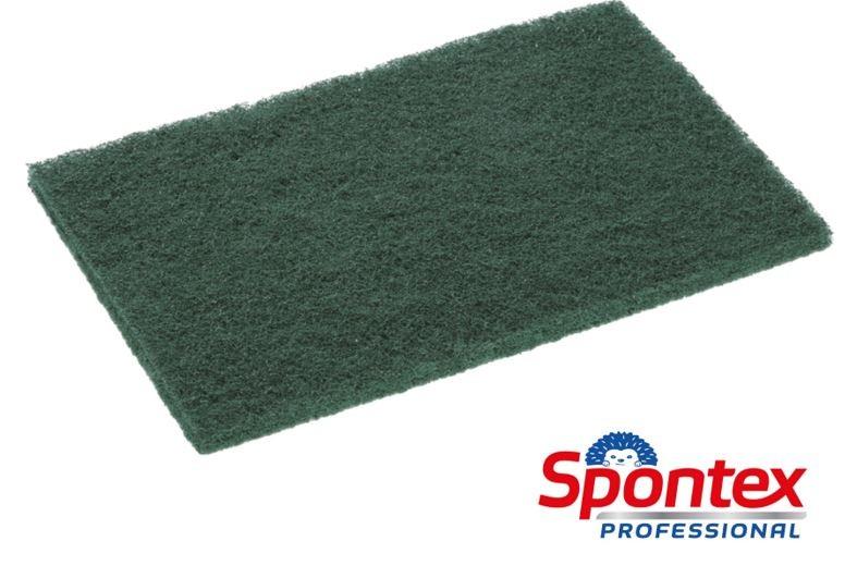 Mercury 44 Spontex Tampon abrasif vert - Sachet 10