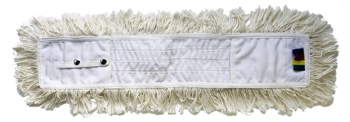 Frange dépoussièrage coton à poches 40cm