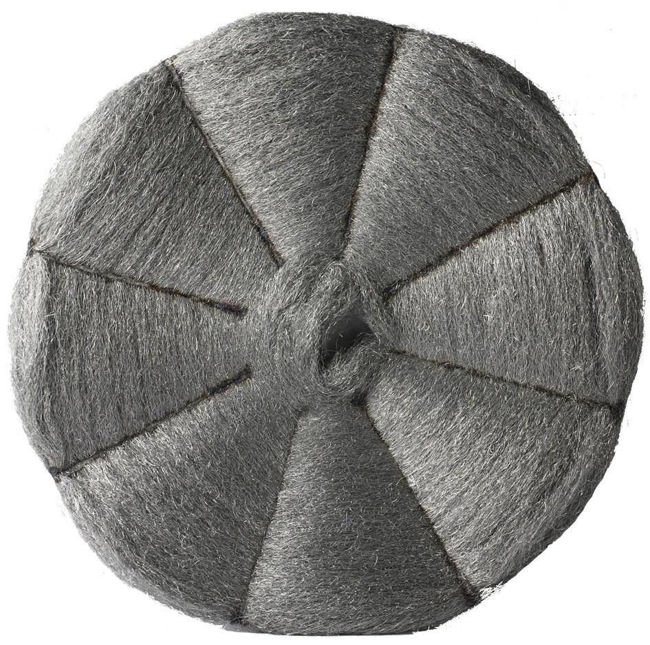 Disque  laine d'acier N°2 cristallisation profonde Marbre basse vitesse- Carton de 5