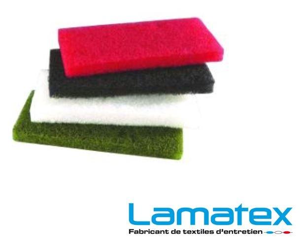 Pad de couleur de nettoyage pour support  sol ou a main - Sachet 10 par couleur