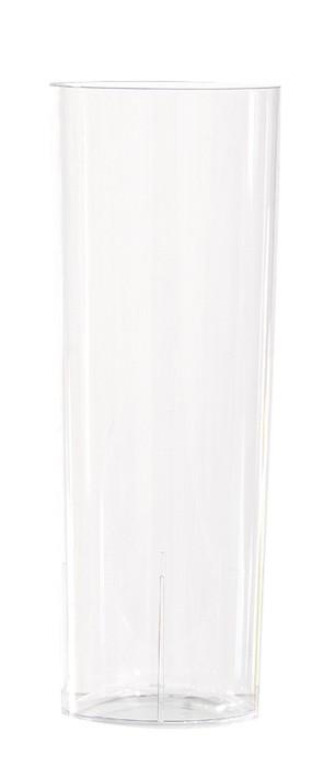 Verre tube en plastique